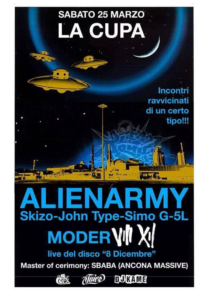 Alien Army - La cupa (Ancona)