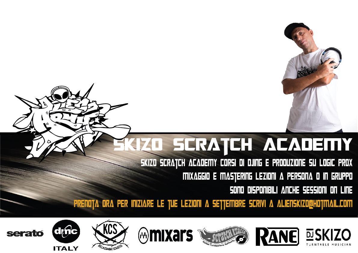 Skizo Scratch Foundation - Corsi Djing e produzione musicale, mixaggio e mastering