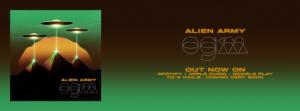 Ascolta ora il Nuovo album Alien Army: OGM Organismi Geneticamente Modificati