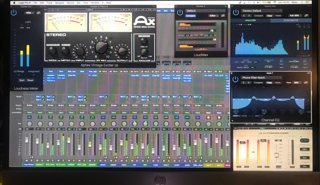 CORSI PERSONALIZZATI PER DJ E TURNTABLIST, PRODUCER, SONG WRITER, REMIXER - LOGIC PRO X